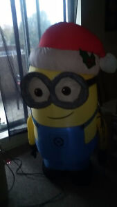Inflatable minion Cornwall Ontario image 1