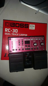 Boss RC-30 Duel track loop station