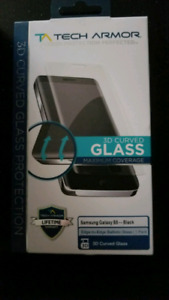 Tech Armor 3D Samsung S8 tempered Glass Screen protector