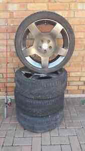 Cobalt ss rims and tires Windsor Region Ontario image 1