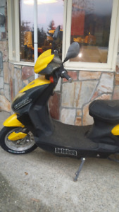 electric scooter, 49cc,  4yrs. old