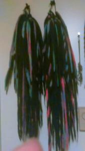 Halloween hair/dreads