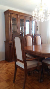 Formal Dining Room Set with Buffet & Hutch
