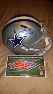 Troy Aikman signed, inscribed & authenticated