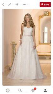 Stella York wedding gown