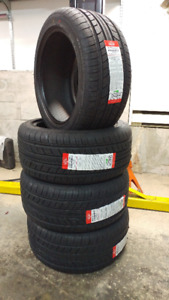 New 235/45R17 all season tires, $410 for 4