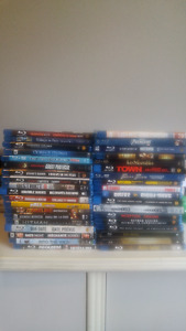 Blu-ray movies collection