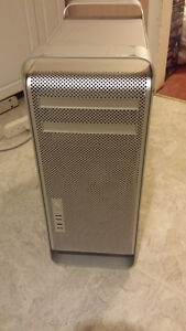 Used Mac Pro Tower with Double Quad core Intel Xeon Processors