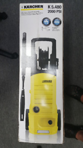 KARCHER K5.480 2000PSI PRESSURE WASHER. BNIB.