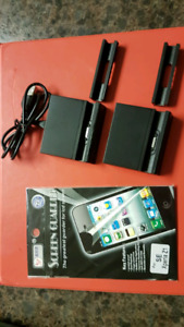 Sony Z1 holder/charger and screen protector