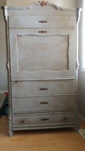 Antique ( Armoire ) Wardrobe--the Lion and Witch are up to you