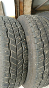 215 70 R 15 Hankook Studded WinterTtires
