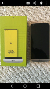 In the box unlocked LG G5 with accessories