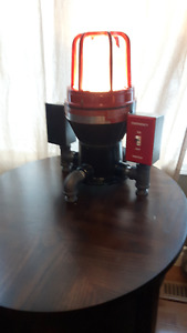 Recycled Industrial Table Lamp