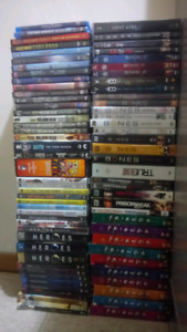 Tv series for sale and a few movies