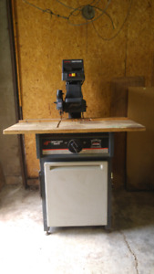 """Sears Craftman 10"""" Cabinet Makers Radial Arm Saw."""