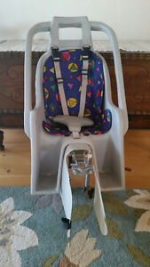 Baby/toddler bike seat carrier $35