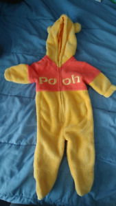 Gently used 3-6m Winnie the Pooh outfit