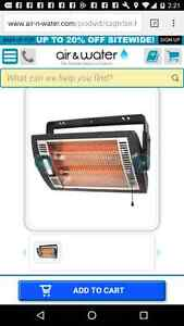 Two comfort zone infrared heaters both like new 100$ for both