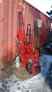 Post pounder for 3 point hitch, like brand new
