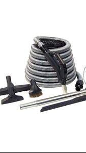 Central Vacuum Hose and Accessories ( Brand New)