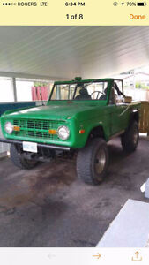 1971 Ford Bronco - Rare find!