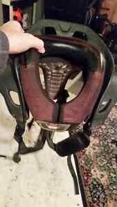 Kids motorcross neck protector Size Large. shoulder padding