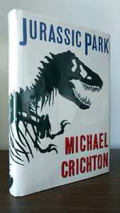 First Edition Hardcover Jurassic Park by Michael Crichton