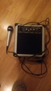 Amp and mic