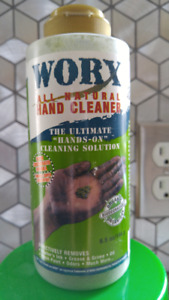 WORX Biodegradable Hand Cleaner 6.5oz All Natural Environmt-Safe