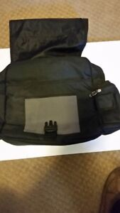 Laptop Backpack with hideaway straps