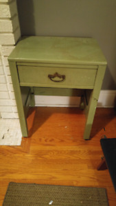Very old bedside table
