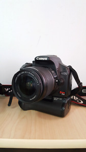 **URGENT** CANON T1I W Battery Grip and 2 LENSES