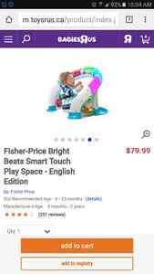 Fisher-Price Bright Beats Smart Touch Play Space  Peterborough Peterborough Area image 1