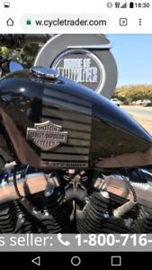 Harley davidson peanut tank 2.3 gal. Sportster 2016