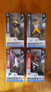 EA Sports Madden 17 McFarlane NFL figures very rare