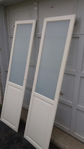 Cabinet/closet Frosted Glass doors