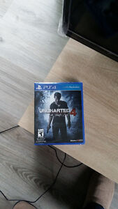 Uncharted 4, PS4 - Brand New Unopened with Wrap on Still!