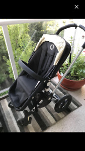 Bugaboo Frog Stroller and Britax B-Safe car seat