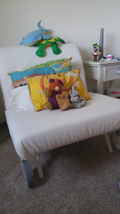 LF Ikea PS LOvas Chair Bed white cover