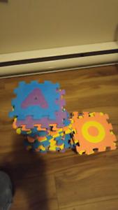Smaller foam play mat