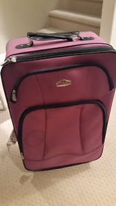 Luggage like new used once  Cambridge  Brand  Purple Color  Good