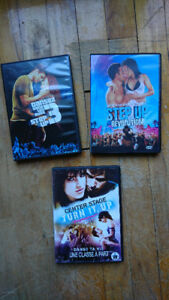 Films Step Up et Danse Ta Vie / Step Up & Center Stage Movies