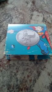New 2015 Canada $20 Fine Silver Superman Coin