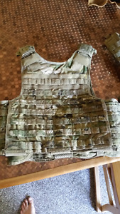 Multicam plate carrier, chest rig and tons of pouches
