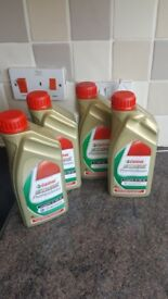 4 litres of 5x30 fully synthetic castrol