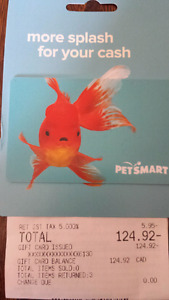 PetSmart Gift Card - 30%+ Off!!   $125 for $85/firm!!