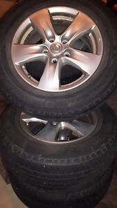 Nissan Quest tires and OEM Rims.