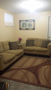 Moving sale-Sofa and Love Seat