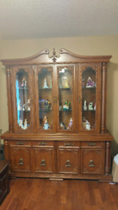 Classic Wall Unit Display Case